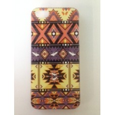 iPhone 5 5s hoesje retro patroon 1