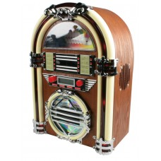 Retro jukebox radio/cd-speler